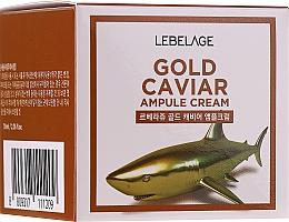 Kup Odmładzający krem ze złotem i ekstraktem z kawioru - Lebelage Ampoule Cream Gold Caviar