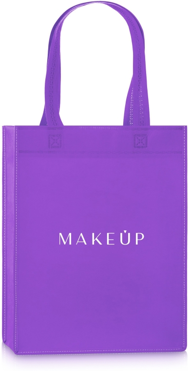 Fioletowa torba shopper Springfield (33 x 25 x 9 cm) - Makeup — фото N1