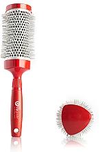 Kup Szczotka termiczna do włosów, 43 mm - Upgrade Triangular Concave Thermal Brush Red Angle