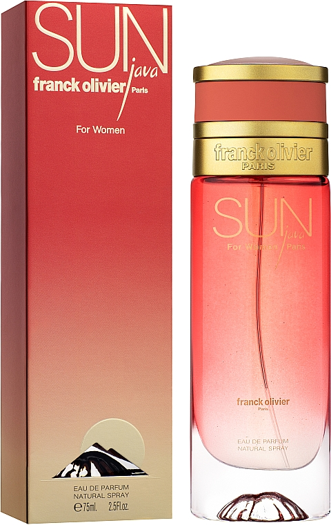 Franck Olivier Sun Java For Women - Woda perfumowana — фото N2