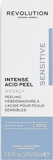 Intensywny peeling kwasowy do skóry wrażliwej - Revolution Skincare Intense Acid Peel For Sensitive Skin — фото N2