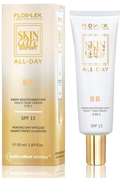 Multifunkcyjny krem BB - Floslek Skin Care Expert All-Day BB Cream