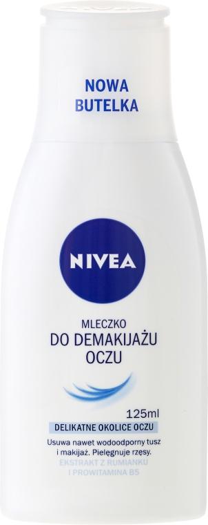 Mleczko do demakijażu oczu - Nivea Visage Cleansing Milk