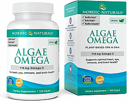 Kup Suplement diety Olej z nordyckich alg, 715 mg - Nordic Naturals Algae DHA