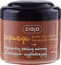 Kup Złuszczająco-wygładzający krystaliczny peeling cukrowy - Ziaja Cupuaçu