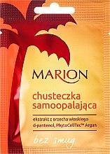 Chusteczka samoopalająca z ekstraktem z orzecha włoskiego - Marion Handkerchief Self Tanning — фото N1