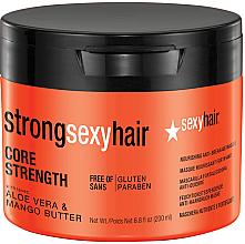 Kup Regenerująca maska wzmacniająca włosy - SexyHair StrongSexyHair Core Strength Nourishing Anti-Breakage Masque