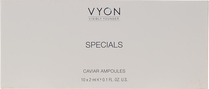 Ampułki do regeneracji skóry twarzy - Vyon Caviar Ampoules — фото N2