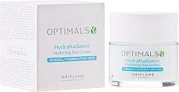 Kup Nawilżajacy krem na dzień do cery normalnej i mieszanej - Oriflame Optimals Hydra Radiance Hydrating Day Cream