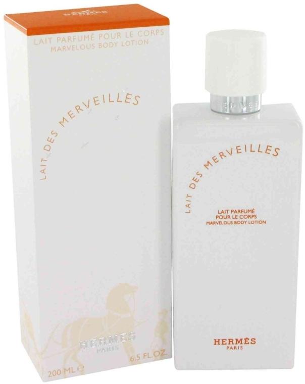 Hermes Eau des Merveilles - Mleczko do ciała — фото N1