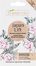 Kup Przeciwzmarszczkowa maseczka rewitalizująca - Bielenda Japan Lift Revitalising Anti-Wrinkle Face Mask