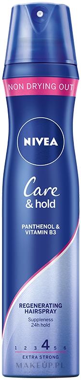 Lakier regenerujący do włosów Care & Hold - Nivea Styling Spray — фото 250 ml