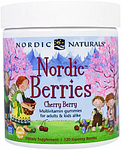 Kup Multiwitaminowe żelki dla dzieci - Nordic Naturals Multivitamin Berries