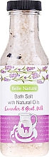 Kup Sól do kąpieli z naturalnymi olejkami Lawenda i kozie mleko - Belle Nature Bath Salt