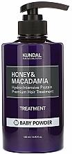 Kup Odżywka do włosów Miód i makadamia - Kundal Honey & Macadamia Treatment Baby Powder