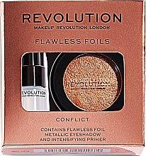 Kup Zestaw do makijażu oczu - Makeup Revolution Flawless Foils (eyeshadow 2 g + primer 2 ml)