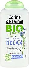Kup Organiczny żel pod prysznic z ekstraktem z dzikiego bratka - Corine De Farme Bio Relax Shower Cream