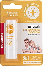 Kup Balsam do ust z pszczelim woskiem dla dzieci - Domowy doktor