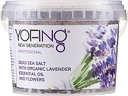 Kup Sól do kąpieli z Morza Martwego z organiczną lawendą - Yofing Dead Sea Salt With Organic Lavender Essensial Oil And Flowers