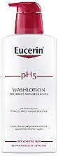 Kup PRZECENA! Oczyszczający lotion do wrażliwej skóry ciała - Eucerin pH5 WashLotion *
