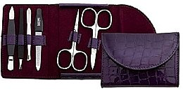 Kup Zestaw do manicure w fioletowym etui - DuKaS Premium Line PL 213FL