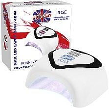 Kup Lampa UV/LED - Ronney Professional Nail Led Lamp Rose White
