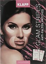 Kup Przeciwzmarszczkowe wygładzające płatki do twarzy - Klapp Glam Stripes Anti Wrinkle Patches