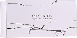 Kup Nawilżające i pielęgnacyjne chusteczki do twarzy - N-Medical Hyaluron Royal Wipes