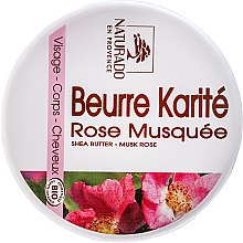 Kup Masło shea do ciała z olejem różanym - Naturado Musk Rose & Shea Butter