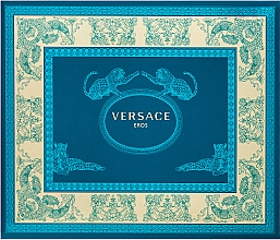 Kup Versace Eros - Zestaw dla mężczyzn (edt 50 ml + sh/gel 50 ml + ash/balm 50 ml)