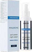 Kup Hialuronowy krem przeciwzmarszczkowy do twarzy na noc - BingoSpa Hyaluronic Anti Wrinkle Night Cream