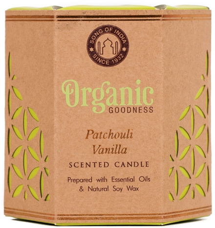 Świeca zapachowa Paczula i wanilia - Song of India Scented Candle — фото N1