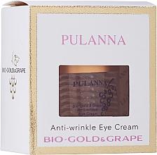 Kup Przeciwzmarszczkowy krem pod oczy Złoto i winogrono - Pulanna Bio-gold & Grape Anti-wrinkle Eye Cream