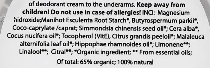 Naturalny dezodorant w kremie - Wooden Spoon Herbalise Me Cream Deodorant — фото N2
