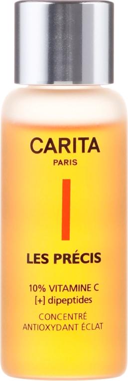 Antyoksydacyjne serum z witaminą C do twarzy - Carita Les Precis 10% Vitamine C [+] Dipeptides Concentre — фото N2
