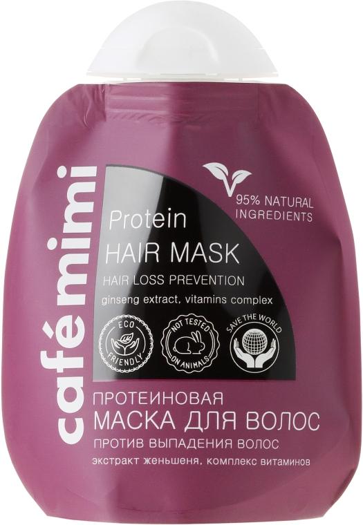Proteinowa maska przeciw wypadaniu włosów - Café Mimi