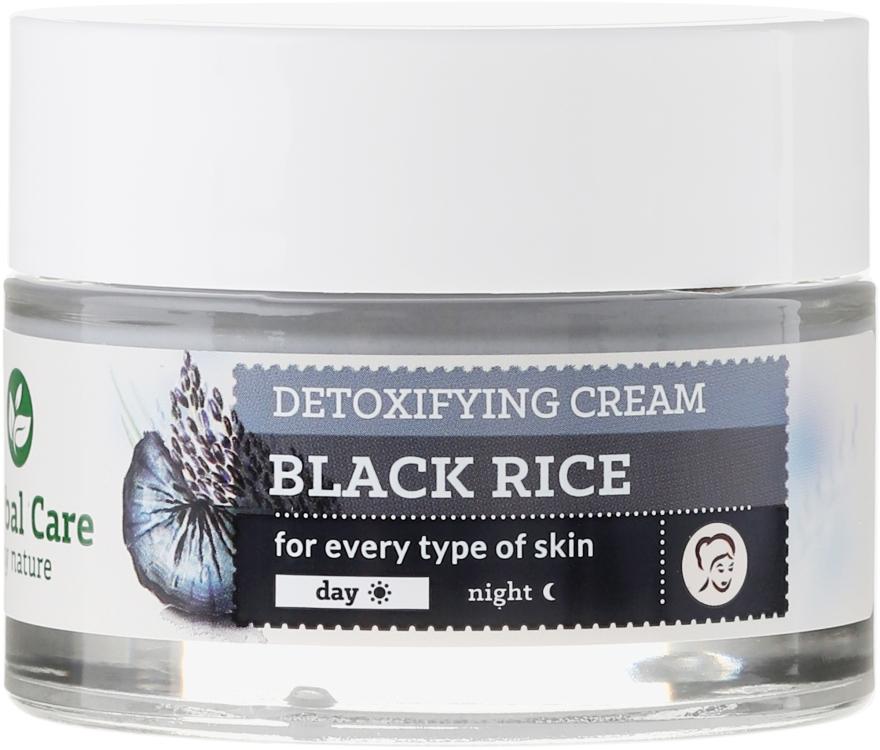 Detoksykujący krem na dzień i noc Czarny ryż z węglem ubame - Farmona Herbal Care — фото N2