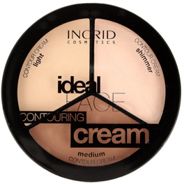 Paletka do konturowania twarzy - Ingrid Cosmetics Ideal Face Countouring Cream
