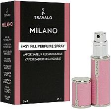 Kup Napełnialny flakon z atomizerem na perfumy - Travalo Milano Pink Rose