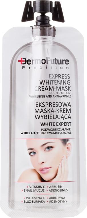 Ekspresowa wybielająca maska-krem - DermoFuture White Expert Cream-Mask