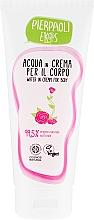Kup Nawilżający krem do ciała z organiczną wodą różaną - Ekos Personal Care Body Water In Cream With Organic Damask Rose Water