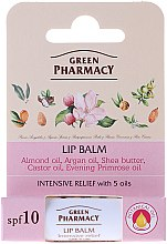 Kup Balsam do ust z witaminą E SPF 10 - Green Pharmacy Intensive Relief Lip Balm