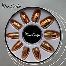 Kup Sztuczne paznokcie, 42409, złote - Deni Carte