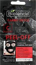 Kup Oczyszczająca maska węglowa do cery mieszanej i tłustej - Bielenda Carbo Detox Peel-Off
