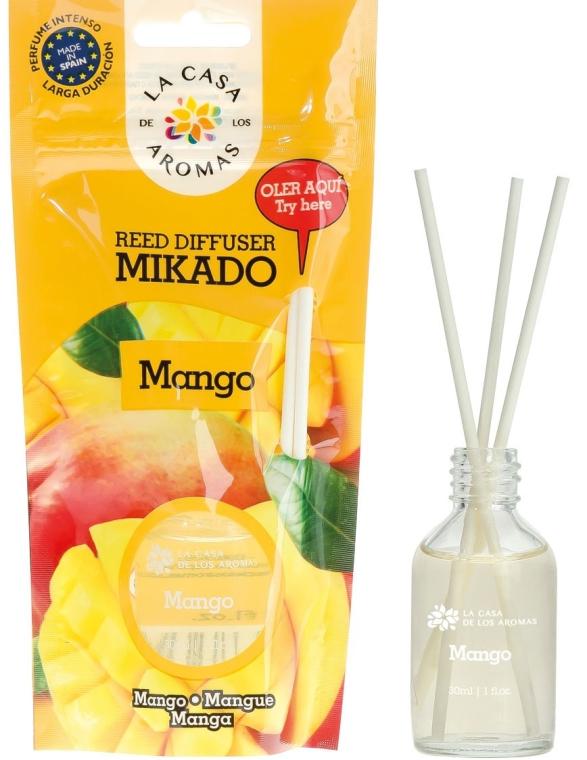 Dyfuzor zapachowy Mango - La Casa de Los Aromas Mikado Reed Diffuser — фото N1