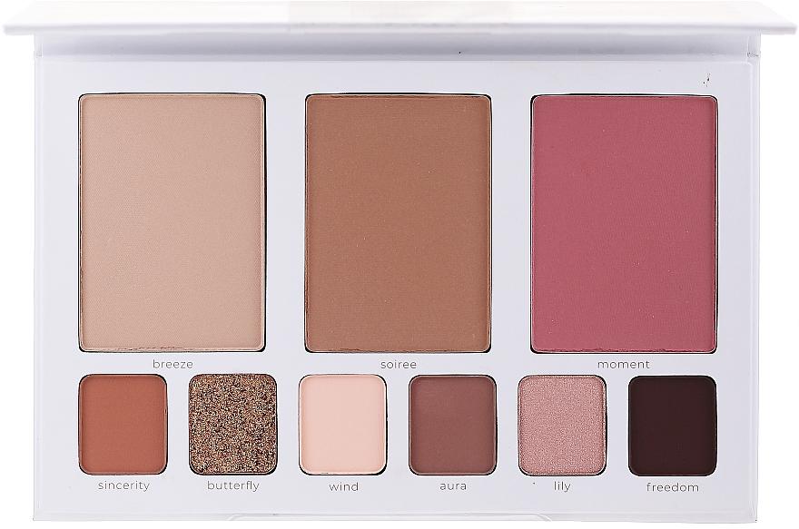Paleta do makijażu twarzy - Affect Cosmetics Butterfly Makeup Palette