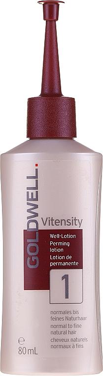 Płyn do trwałej ondulacji do włosów delikatnych - Goldwell Vitensity Performing Lotion 1 — фото N1
