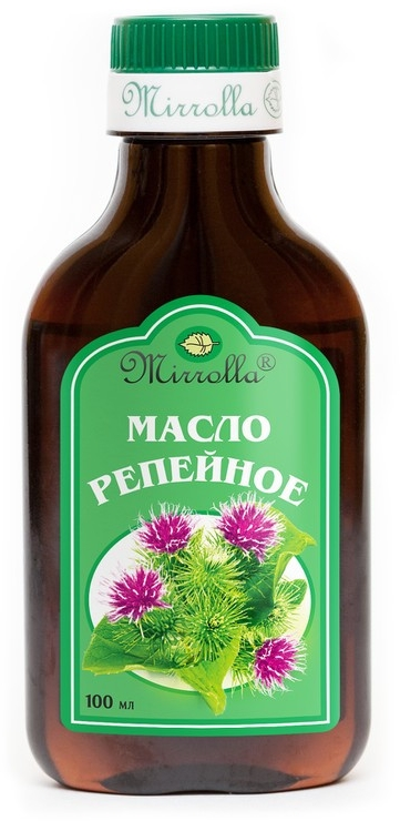 Olej łopianu - Mirrolla