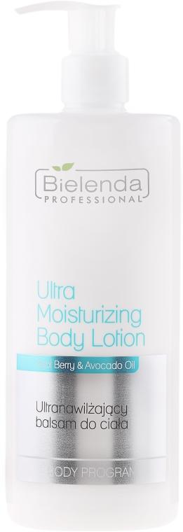 Ultranawilżający balsam do ciała - Bielenda Professional Body Program Ultra Moisturizing Body Lotion — фото N1