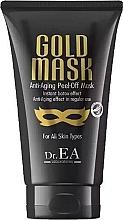 Kup Przeciwstarzeniowa maska do twarzy typu peel-off - Dr.EA Gold Mask Anti-Aging Peel-Off Mask